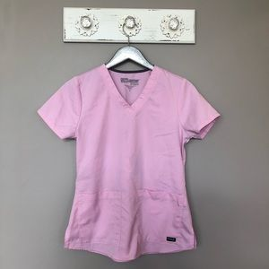 Grey's Anatomy   Light Pink Scrub Top